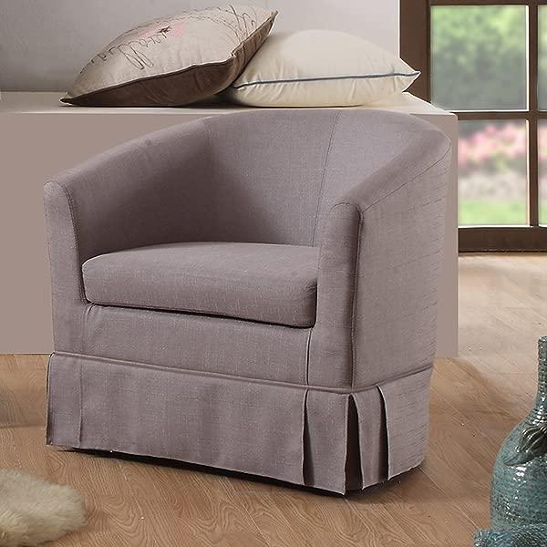 Rosevera C16 3 G Magdalena Barrel Chair Grey