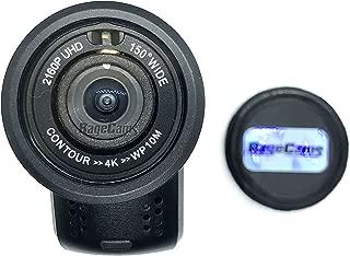 CONTOUR4K HD Camera 4K Action Camera Waterproof Helmet CAM RAGECAMS MOD (6mm Semi Wide, Day)