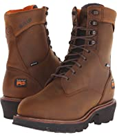 "Timberland PRO 9"" Rip Saw Soft Toe Waterproof Insulated Logger"