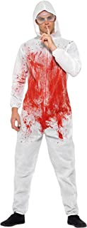 Smiffy's Bloody Forensic Overall Costume, Multi-Colour, Medium, 40326M