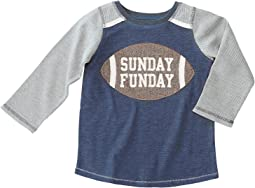 Mud Pie - Football Sunday Funday Long Sleeve Shirt (Infant/Toddler)