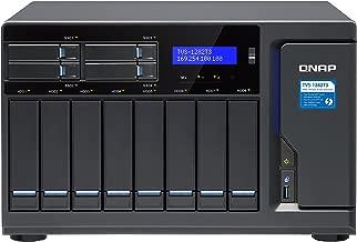 QNAP   TVS-1282T3-i7-64G-US   QNAP Ultra-High Speed 12 Bay (8+4) Thunderbolt 3 NAS/iSCSI IP-SAN. (12TBx 8) Bundle.