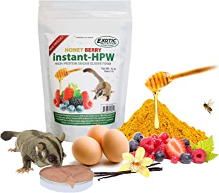 Exotic Nutrition Honey Berry Instant-HPW - High Protein Sugar Glider Food
