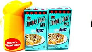 FCF Carnival Funnel Cake Mix 2 Pack and Pitcher