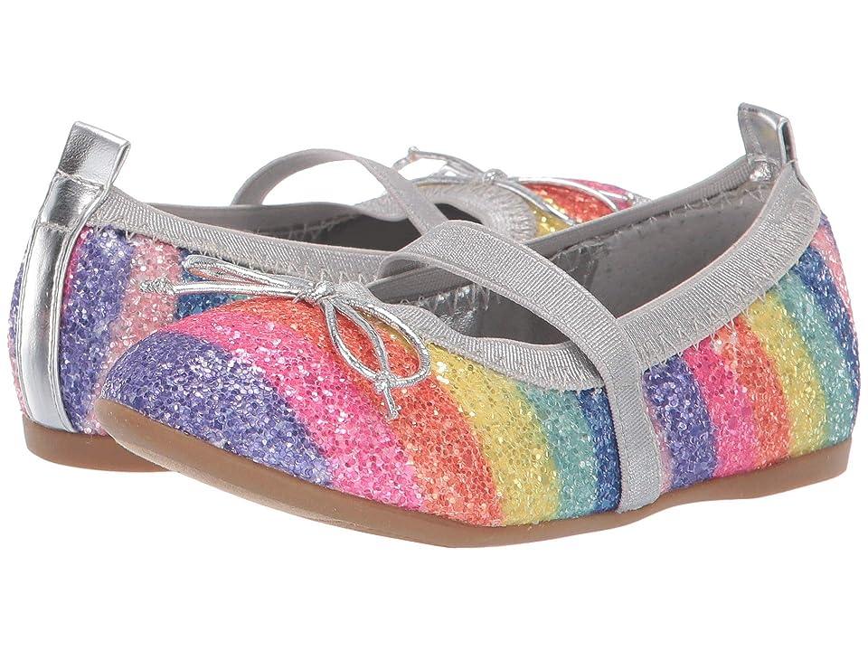 Nina Kids Esther-T (Toddler/Little Kid) (Rainbow Glitter) Girls Shoes