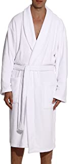 Ultra Soft Plush Robe for Men with Shawl Collar