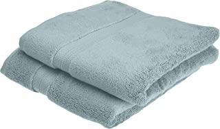 Pinzon Pima Cotton Towel Set (2 Hand Towels) - Spa Blue - 50 x 100 cm