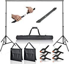 Best adjustable backdrop stand Reviews