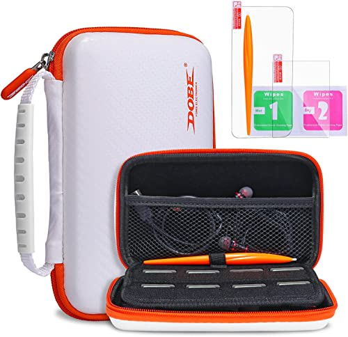 KINGTOP Protective Carrying Case for New Nintendo 2DS XL LL Hard Shell Travel Bag for New Nintendo 2DS XL/LL New Nint...