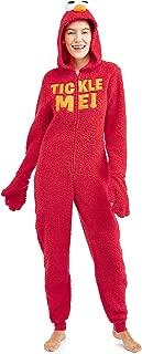 Sesame Street Women's Cookie Heart Pocket Union Suit