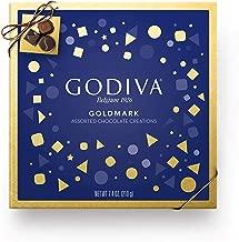 Godiva Chocolatier Goldmark Assorted Chocolate Gift Box, Premium Chocolate, Chocolate Treats, Great as a Gift, 17 pc, 7.4 Ounce