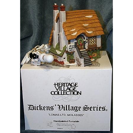 New Dept 56 Dickens Village SETON MORRIS SPICE MERCHANT SET Apple Figurine 58308
