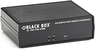Black Box CAT6 A/B Switch Latching RJ45 Controlled Dry Contact