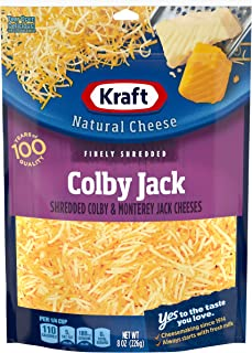 Kraft Natural Colby Jack Finely Shredded Cheese (8 oz Bag)