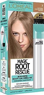 L'Oreal Paris Root Rescue 10 Minute Root Coloring Kit, 7 Dark Blonde