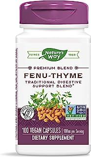 Nature'S Way - Fenu-Thyme 450 Mg. 100 Vegetarian Capsules