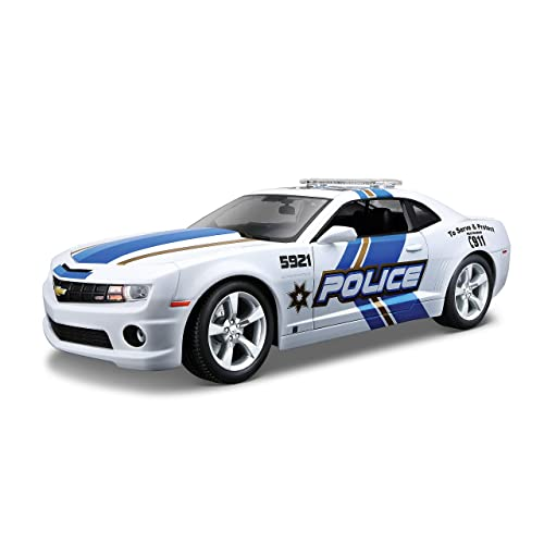 Maisto 1:18 Scale 2010 Chevy Camaro SS RS Police Diecast Vehicle