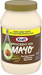 Kraft Avocado Oil Reduced fat Mayonnaise, 30 fl oz Jar