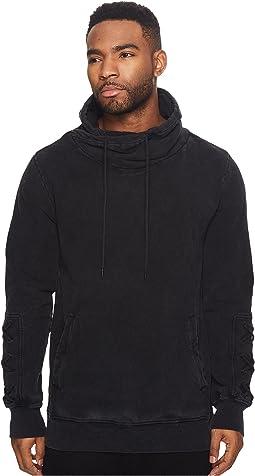 nANA jUDY - Chance Pisa Style Fleece Sweater w/ Lace-Up Sleeve Detail