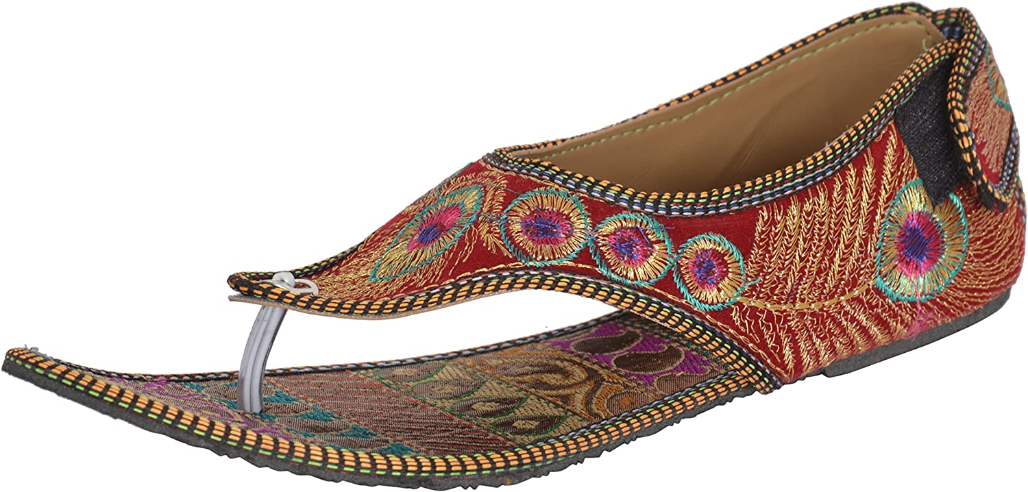 Red Choice Collection Women's Indian Ethnic Footwear