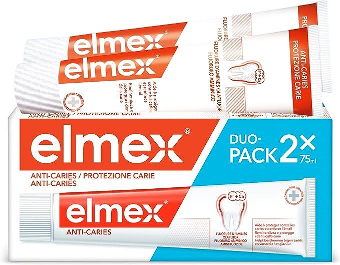 274 opinioni per elmex Dentifricio Protezione Carie, Reminiralizza e Protegge Efficacemente i