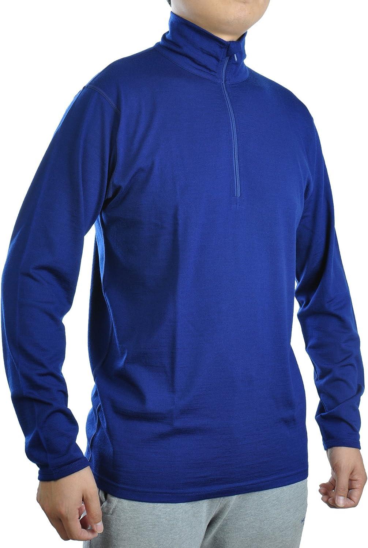 SHEEP RUN Men's Ranking TOP20 100% Merino Wool Shirt Miami Mall Long Lightweight T Sleeve