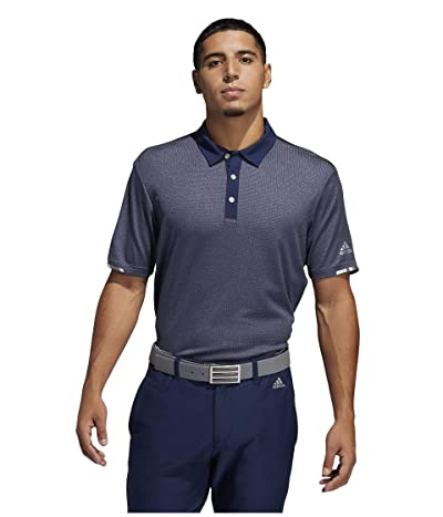 adidas Golf Heat.Rdy Base Polo Shirt (Collegiate Navy Melange) Men