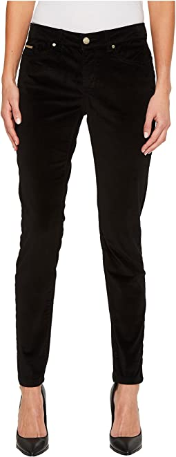 Ivanka Trump - Textured Grommets Pocket Pants