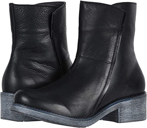 Soft Black Leather/Black Madras Leather