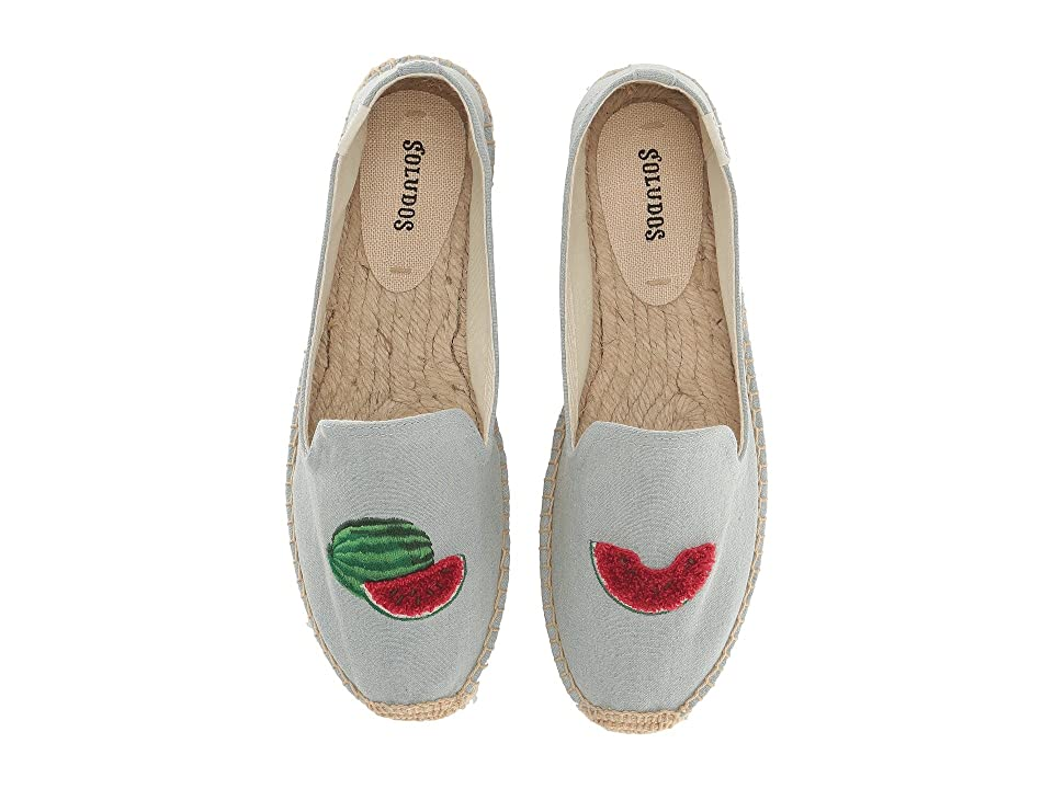 Soludos Watermelons Smoking Slipper (Chambray) Women