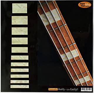 Fretboard Markers Inlay Sticker Decals for Bass - Jazz Bass Block - AWP