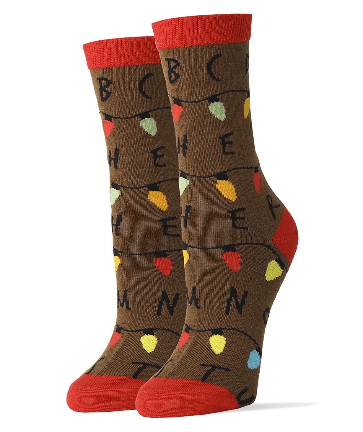 Oooh Yeah Women's Crew Funny Novelty Stranger Socks
