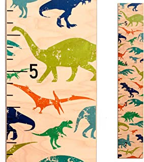 Dinosaur Growth Chart | Baby Shower Gift | Measuring Height Chart for Babies, Kids, Boys & Girls