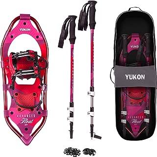 Yukon Charlies Advanced Float Women's Snowshoe Kit, 825