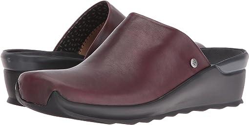 Bordo Velvet Leather