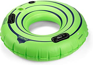 """Tube Pro Green 44"""" Premium River Tube with Cupholder"""