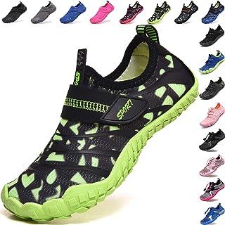 Lvptsh Zapatos de Agua para Niños Zapatos de Playa Secado Rápido Descalza Escarpines de Verano Deportes Acuáticos Swim Bea...