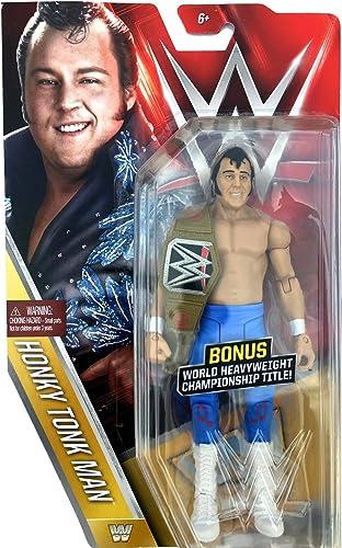 Honky Tonk Man Mattel WWE Basic Series 59 Chase with Title Belt by Mattel