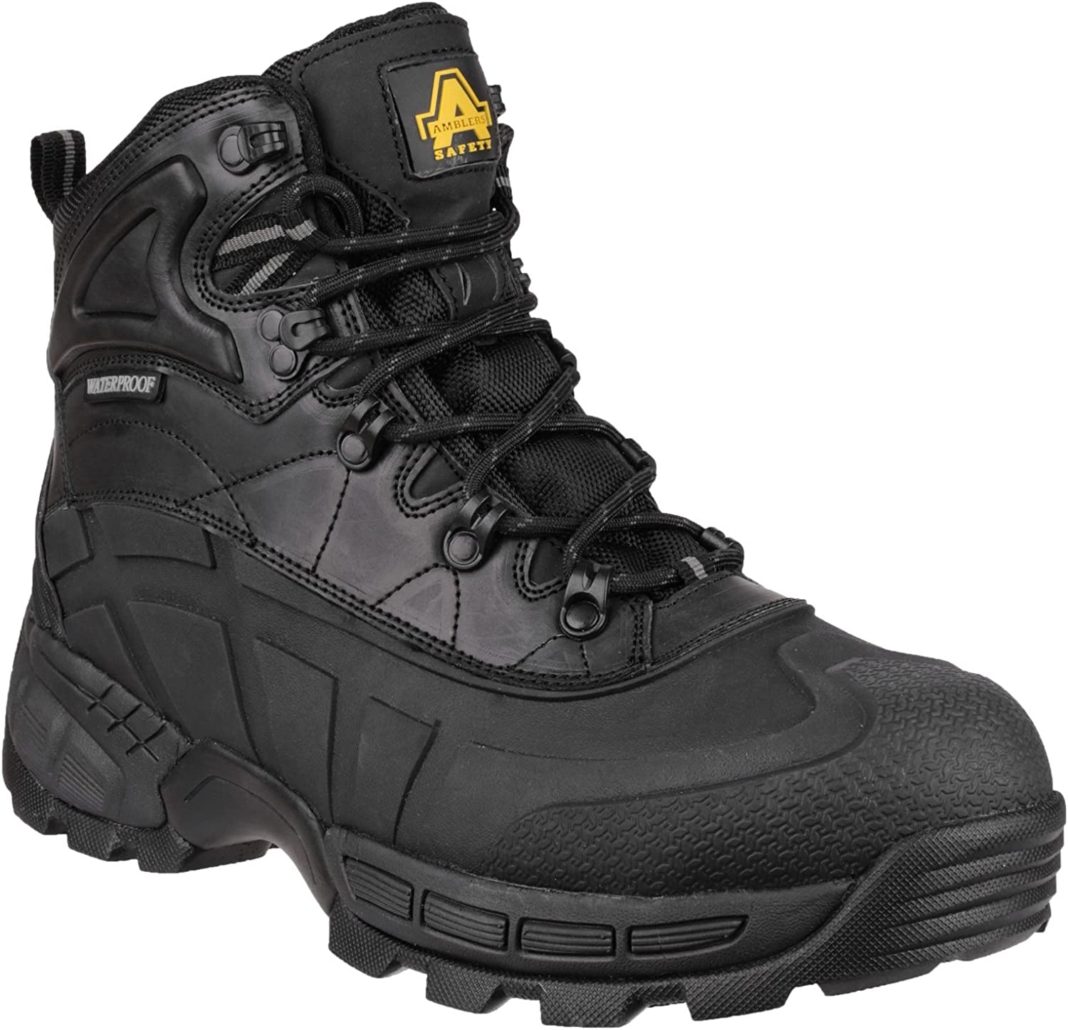 Amblers Safety Mens FS430 Orca Lightweight Waterproof Metal Free Lace Up Safety Boot