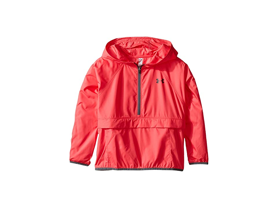 Under Armour Kids Woven Jacket (Big Kids) (Gala/Rhino Gray) Girl