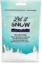 Let it Snow Kit Slime para Nieve Artificial – Nieve Falsa Premium para Bolas de Slime y Decoración Navideña – Fabricado en EEUU