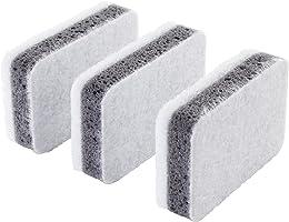 Svampig Temizlik Süngeri, gri-beyaz,Mutfak -Banyo 3'lü paket