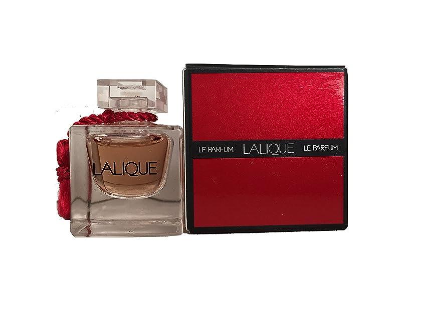 軍艦部族欠乏Lalique Le Parfum EDP Mini(ラリック ル パルファム オードパルファン ミニ)4ml [並行輸入品]