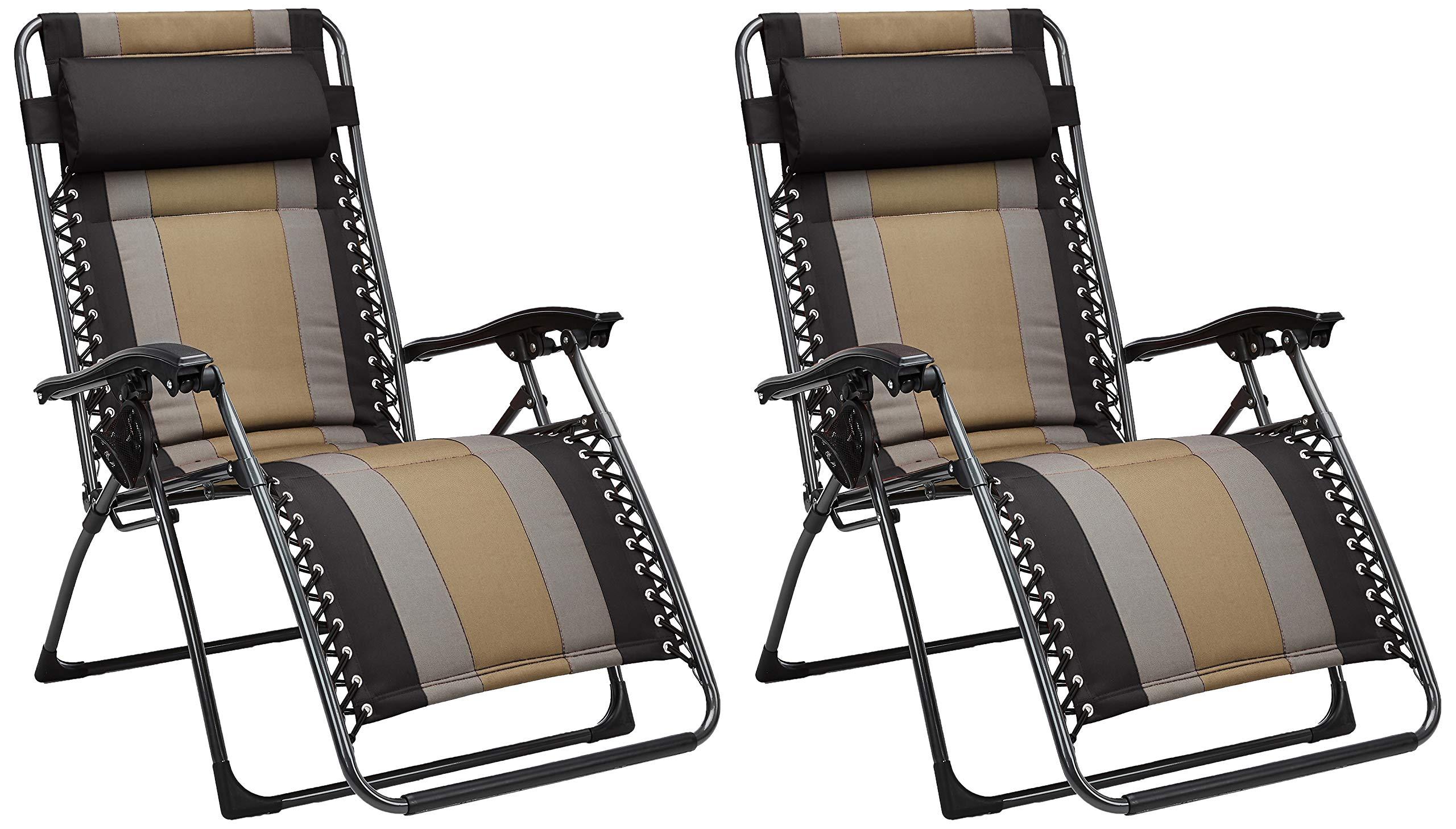 AmazonBasics Padded Gravity Chair Black