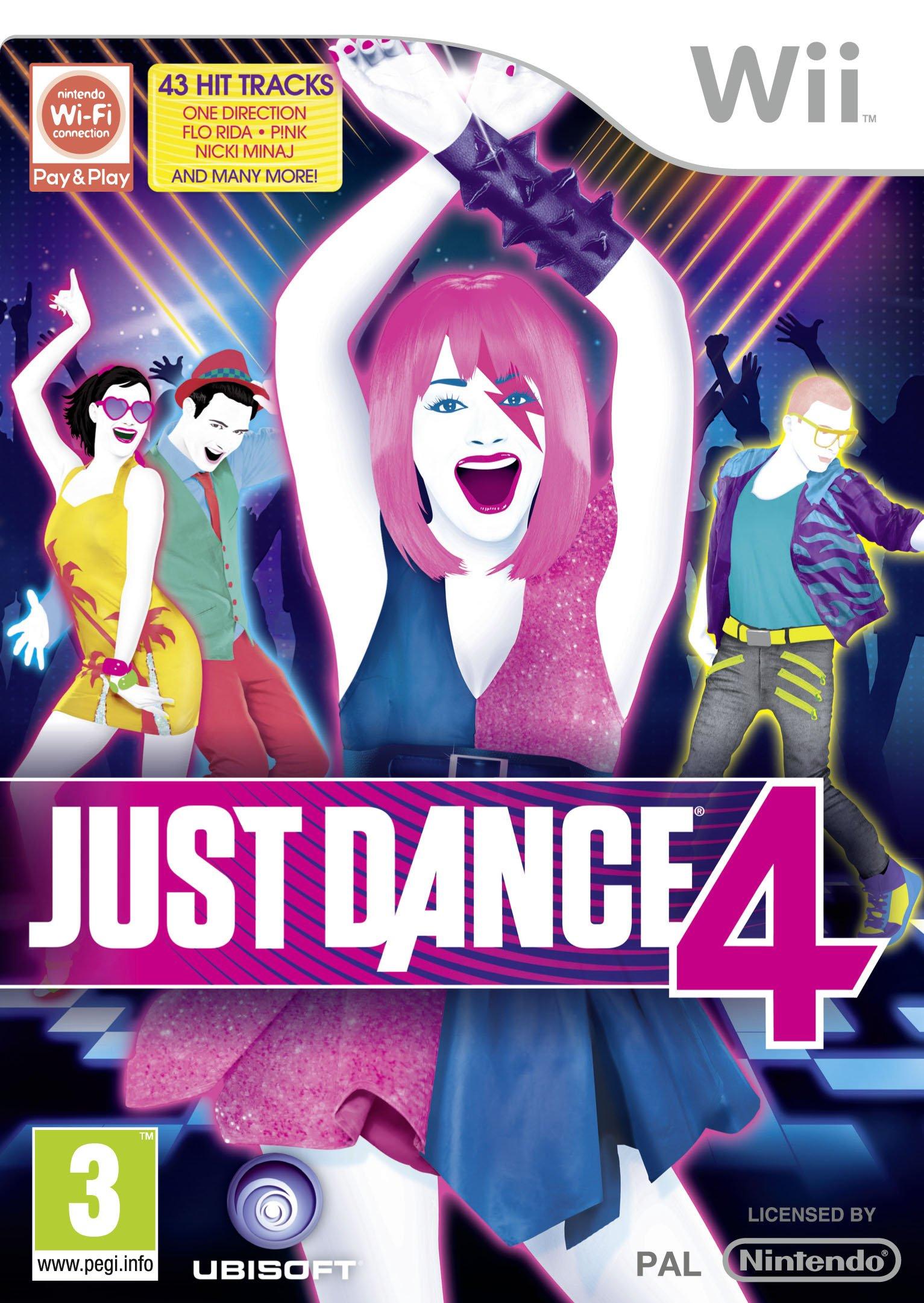 Just Dance 4 [Importación inglesa]: Amazon.es: Videojuegos