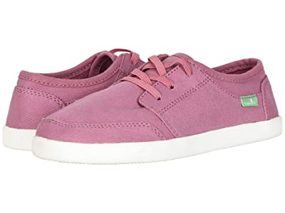 Sanuk Kids Lil Vagabond Lace Sneaker (Little Kid/Big Kid) (Heather Rose) Kid