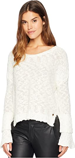 Ruffle Party Sweater