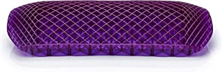 Purple Back Support Cushion - Lumbar Back Cushion for The Car Or Office Chair - Can Help in Relieving Back Pain & Sciatica Pain