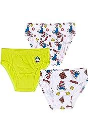adiasen 4 Pcs//Lot Boys Briefs and Boxers Set Soft Organic Cotton Underwear Knickers