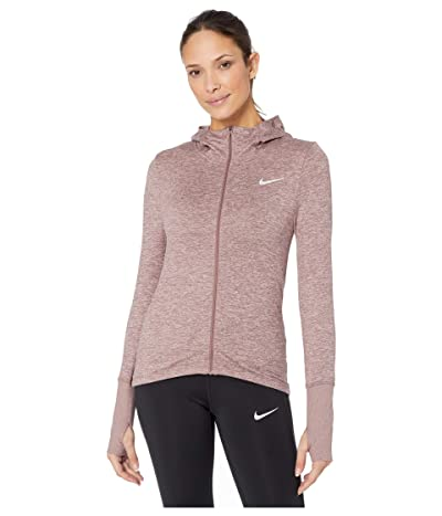 Nike Element Hoodie Full Zip (Smokey Mauve/Reflective Silver) Women